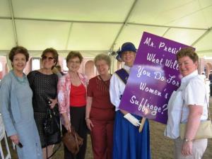 Members at Lorton Workhouse Celebration aug 2013